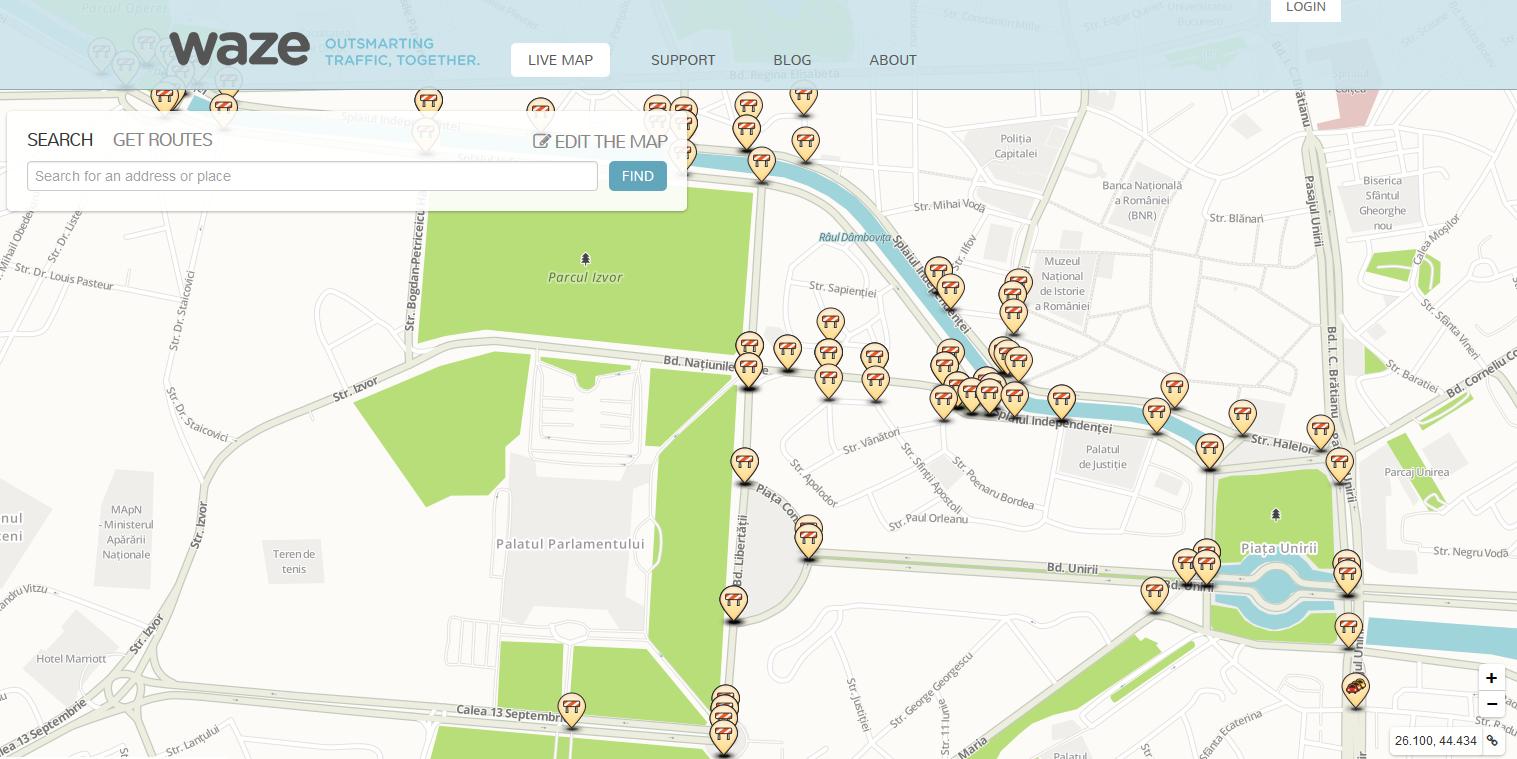 Drumurile închise în București de Maratonul Internațional București, programate și în Waze